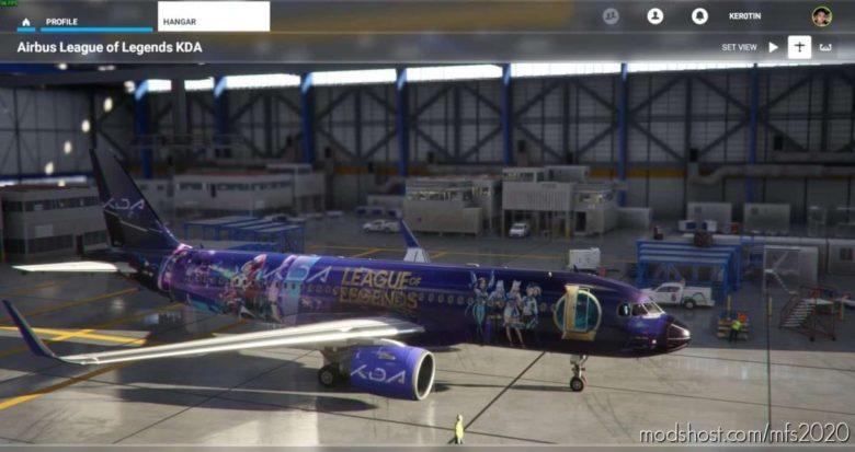 LOL KD/A Livery for Microsoft Flight Simulator 2020