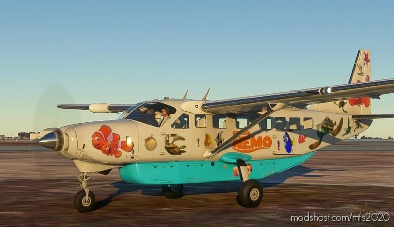 Finding Nemo Express for Microsoft Flight Simulator 2020
