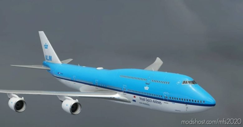 Boeing 747-8 KLM Jakarta V2.0 for Microsoft Flight Simulator 2020