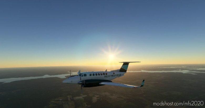 Pacific Mountain AIR B350 (Fictional) for Microsoft Flight Simulator 2020