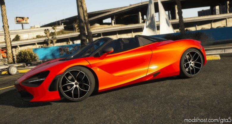 Mclaren 720S Spider for Grand Theft Auto V