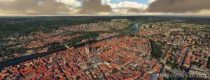 Regensburg, Bavaria, Germany for Microsoft Flight Simulator 2020