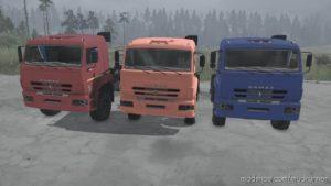 Kamaz-6522-53 Truck V21.12.20 for MudRunner