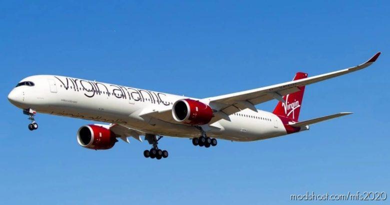 Virgin Atlantic Flight Plans Megapack for Microsoft Flight Simulator 2020