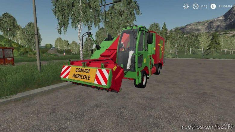 Strautmann VM 1702 Double SF Agricultural Convoy for Farming Simulator 19