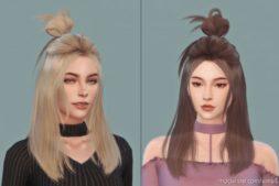 Daisysims Female Hair G24 for The Sims 4