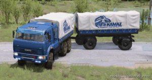 """Kamaz """"Batyr"""" Truck V23.12.20 for MudRunner"""