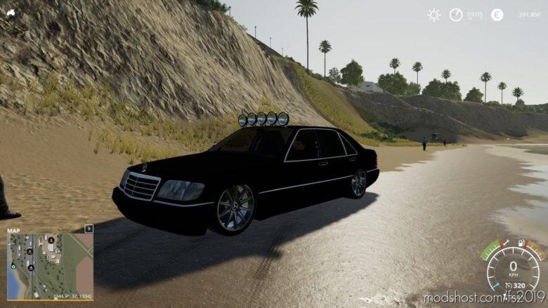 Mercedes Benz 500 Edit 2010 for Farming Simulator 19