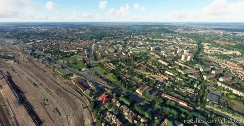 Élancourt & Trappes – 78 Yvelines for Microsoft Flight Simulator 2020