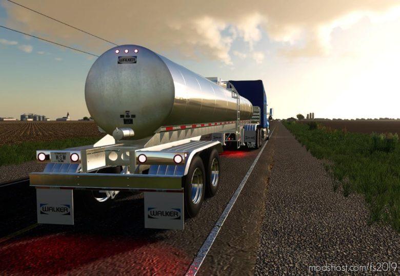Walker Food Grade Tanker for Farming Simulator 19