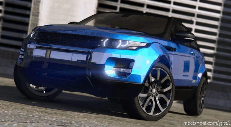 Range Rover Evoque V8.0 for Grand Theft Auto V