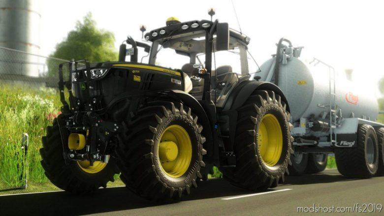 John Deere 6R Series Medium for Farming Simulator 19