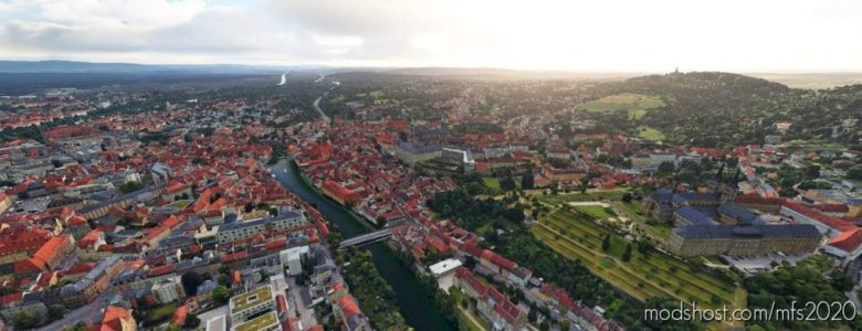 Bamberg, Germany for Microsoft Flight Simulator 2020