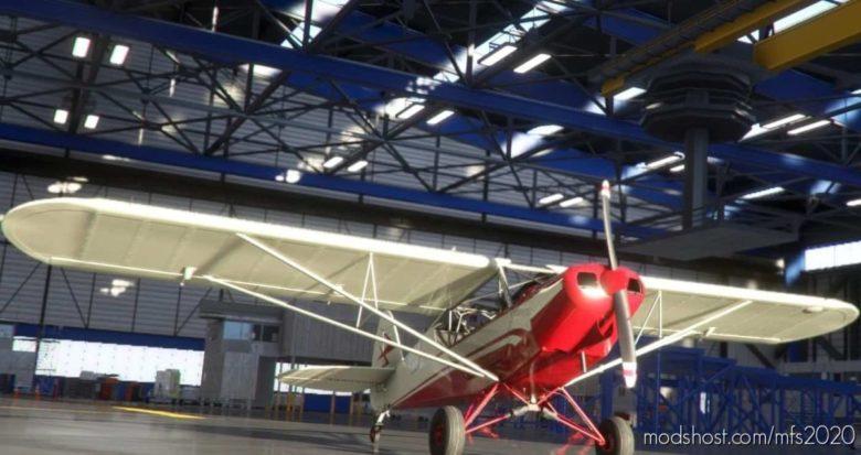 "Savage CUB N4971H ""Flight Of Passage"" V1.1.1 for Microsoft Flight Simulator 2020"