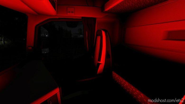 Volvo FH16 2012 RGB Interior Light [1.39] for Euro Truck Simulator 2