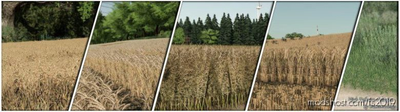 High Definition Foliagen Pack for Farming Simulator 19