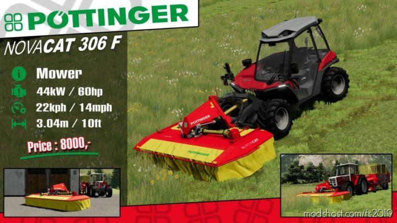 Pottinger Novacat 306 F for Farming Simulator 19