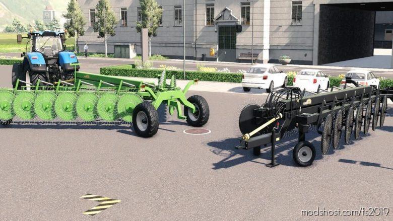 Lizard Rake 8.5 M for Farming Simulator 19