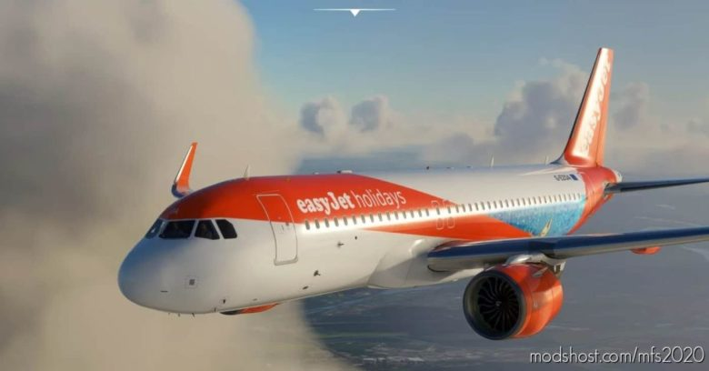 A320 NEO Easyjet Holidays for Microsoft Flight Simulator 2020