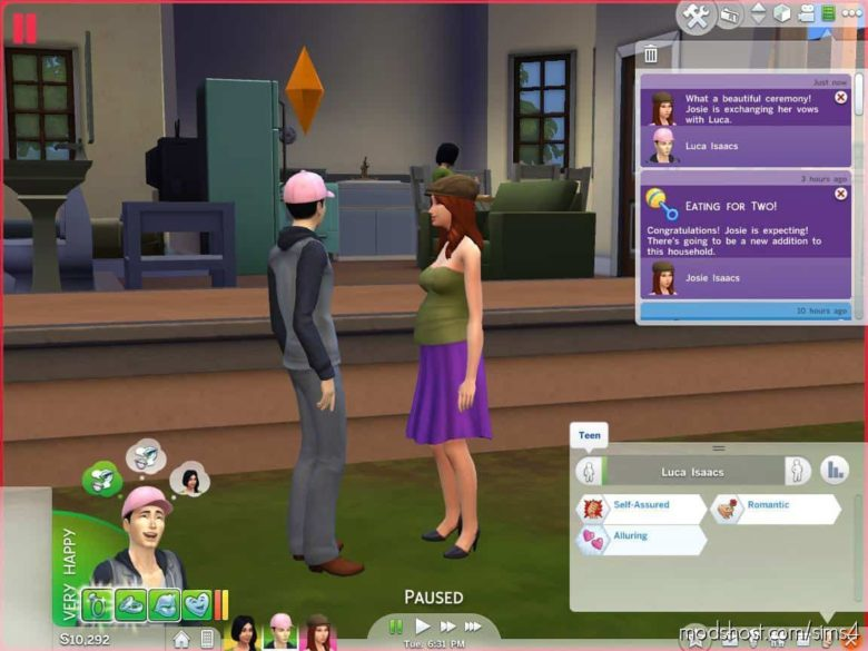 Teen S*X Mod – Pregnancy And Marriage for The Sims 4
