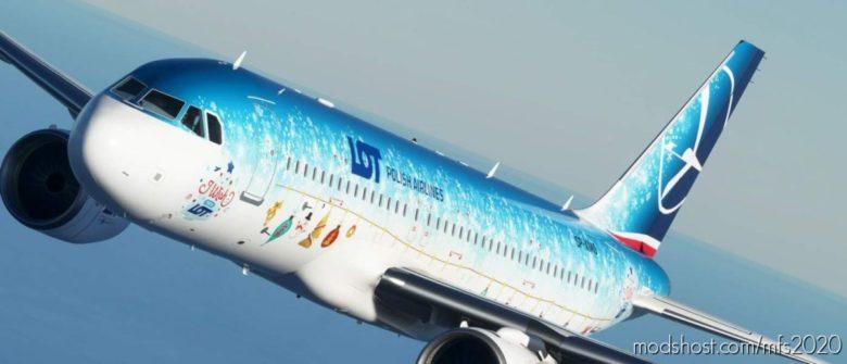 "PLL ""LOT"" – I Wish YOU A LOT for Microsoft Flight Simulator 2020"