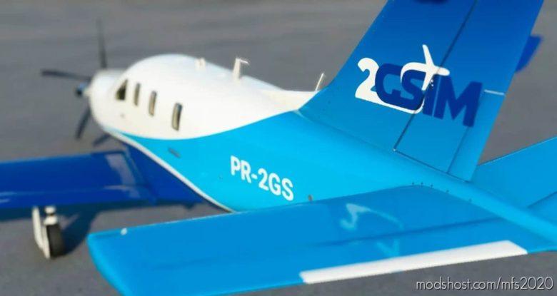 2Gsim for Microsoft Flight Simulator 2020