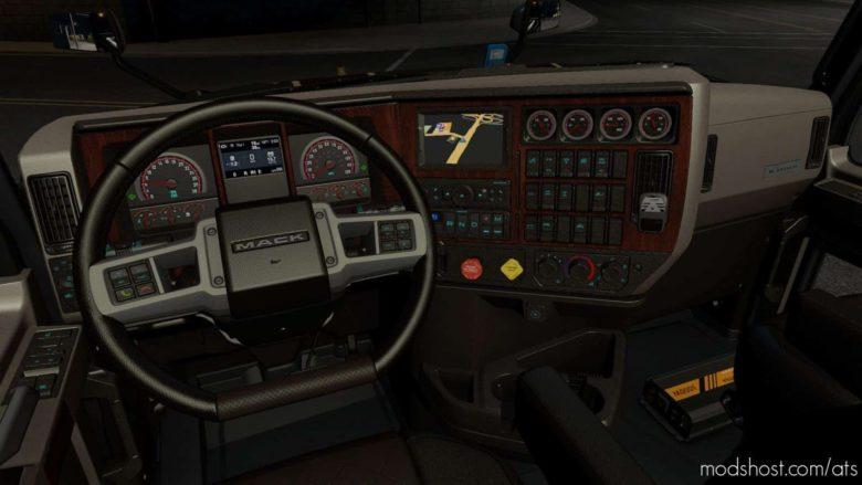 Interior For Mack Anthem V0.9 for American Truck Simulator