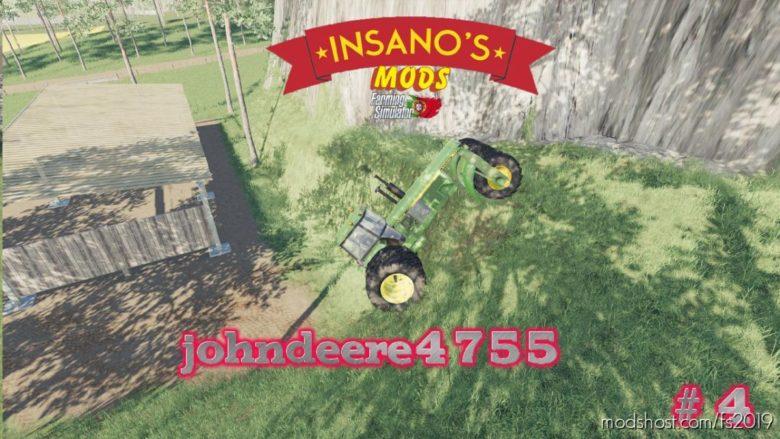 John Deere 4755 for Farming Simulator 19