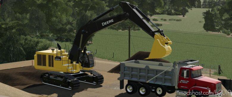 John Deere 670G LC for Farming Simulator 19