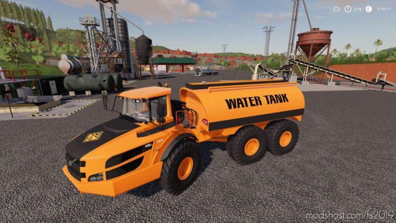 Volvo AG-40 Tank for Farming Simulator 19