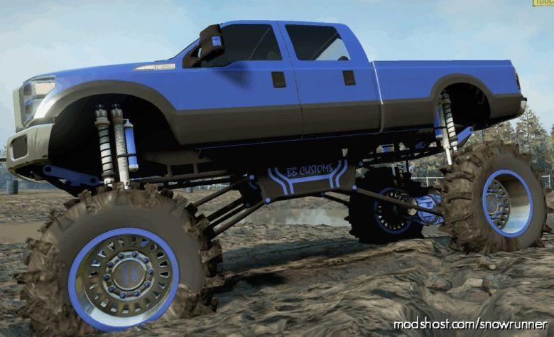 F-350 Diesel Mega MUD Truck V for SnowRunner
