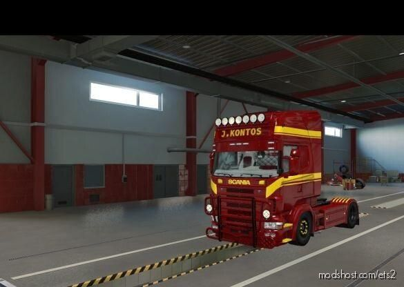J.kontos (Skin) for Euro Truck Simulator 2