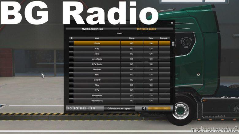 BG Radio for Euro Truck Simulator 2
