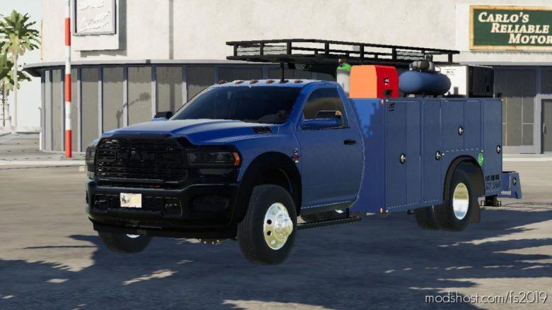 2020 RAM 5500 Service Truck for Farming Simulator 19