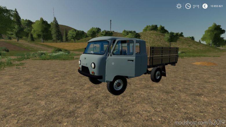 UAZ 390945 for Farming Simulator 19