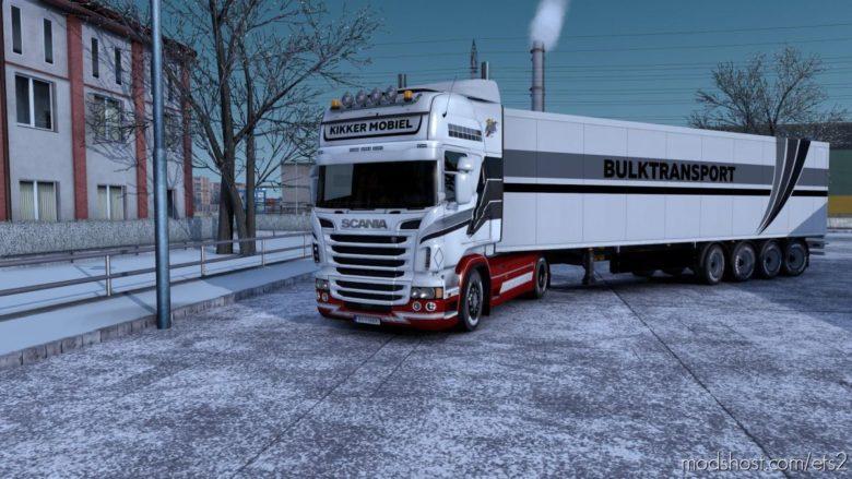 Combo Skin Kikker Mobiel for Euro Truck Simulator 2