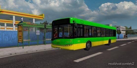 Solaris Urbino III MPK Poznan Skin for Euro Truck Simulator 2