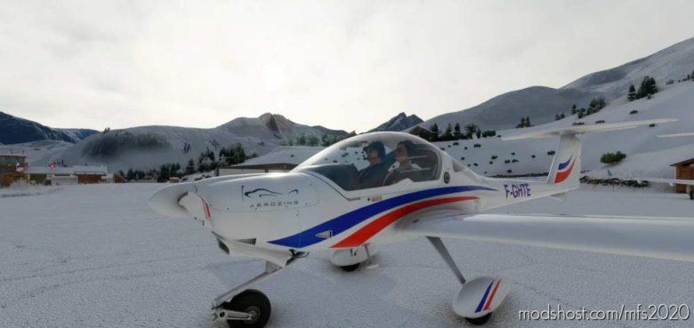 Diamond Da/Dv20 Aerozing F-Ghte for Microsoft Flight Simulator 2020
