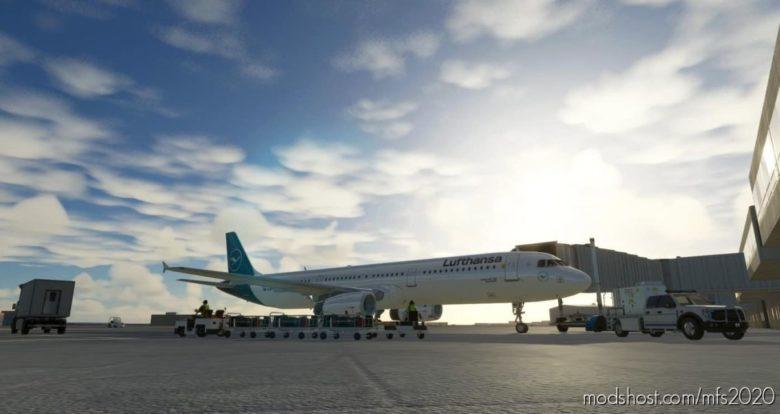 A321 Lufthansa [8K/4K] for Microsoft Flight Simulator 2020