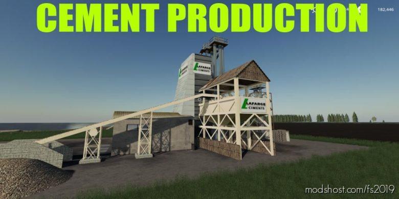 Cement Factory for Farming Simulator 19