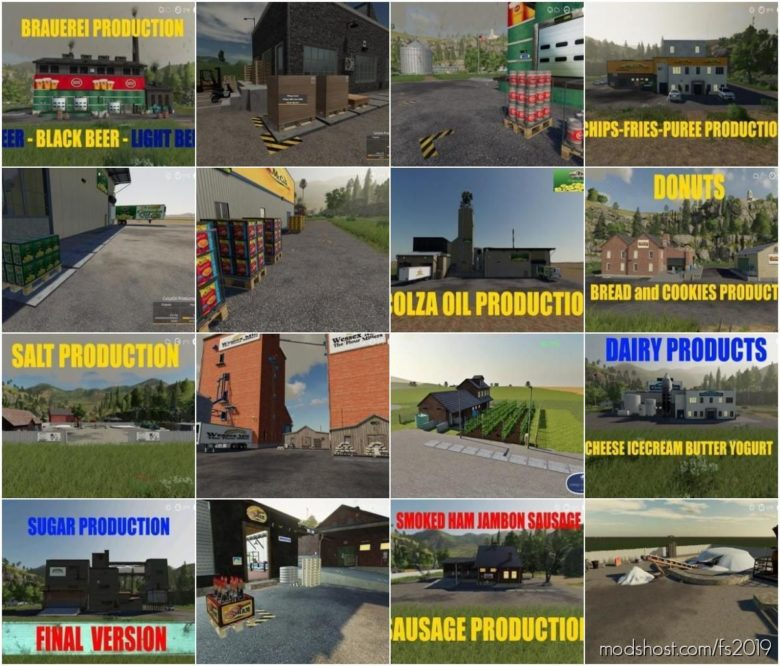 Global Company Pack Update for Farming Simulator 19