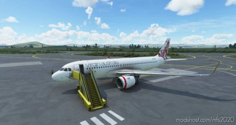 Virgin Australia A320 for Microsoft Flight Simulator 2020
