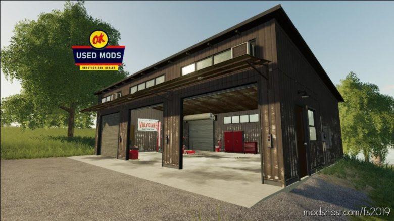 OLD Auto Shop for Farming Simulator 19