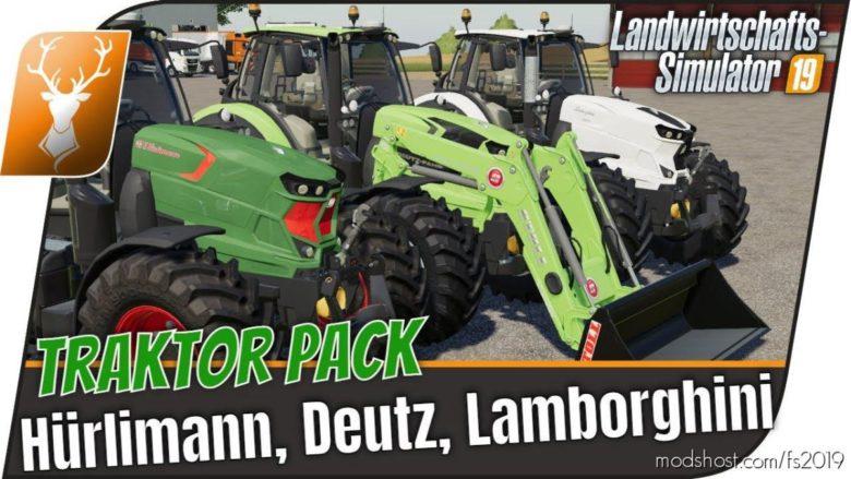 Sdf-Pack – 3 In 1 for Farming Simulator 19