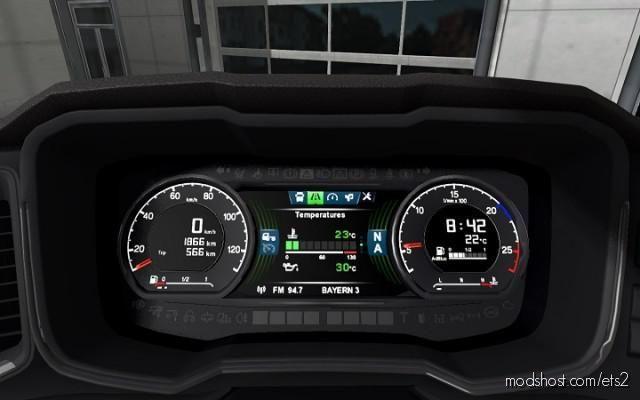 Scania S NEW GEN Dashboard Computer V1.6 [1.39] for Euro Truck Simulator 2