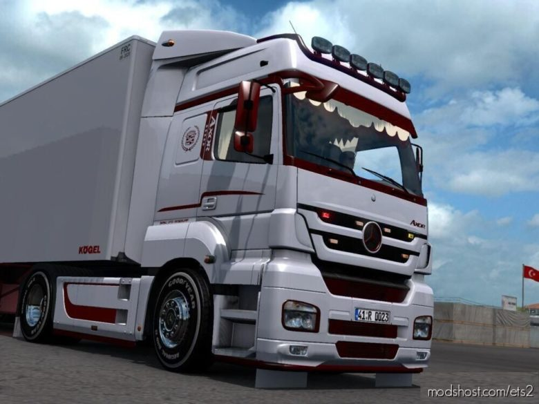 Mercedes Benz Axor Custom + Trailer [1.39.X] for Euro Truck Simulator 2