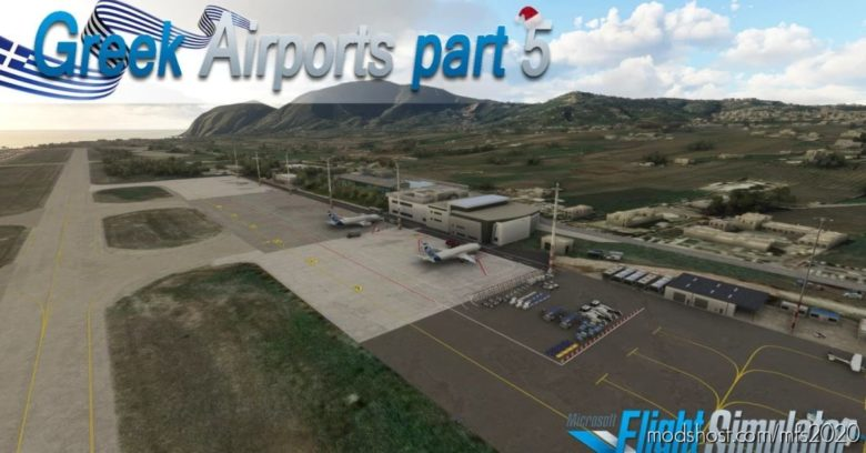 Greek Airports Part 5 for Microsoft Flight Simulator 2020