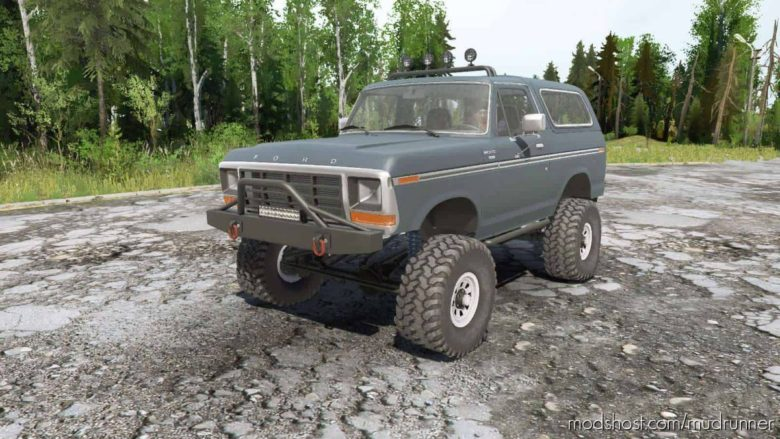 Ford Bronco Mod for MudRunner