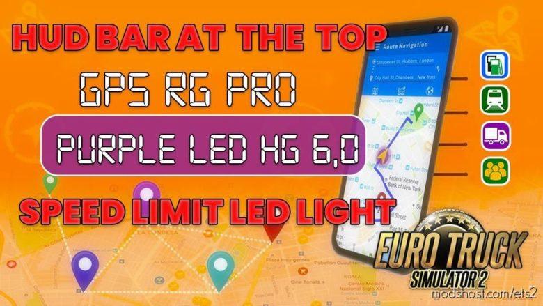 GPS RG PRO Purple LED HG V6.0 for Euro Truck Simulator 2
