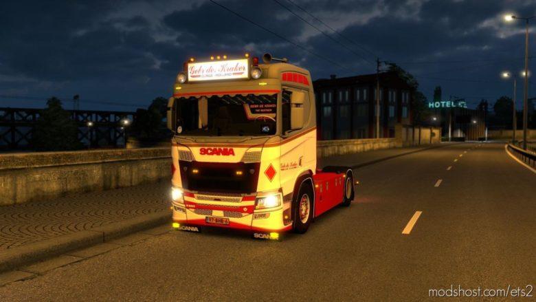 Gebr DE. Kraker Scania Nextgen R520 [1.38] for Euro Truck Simulator 2